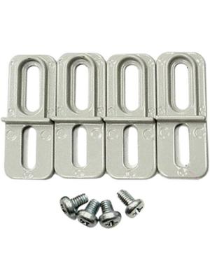 RND Components - RND 455-00481 - Mounting Bracket Aluminium alloy grey, RND 455-00481, RND Components