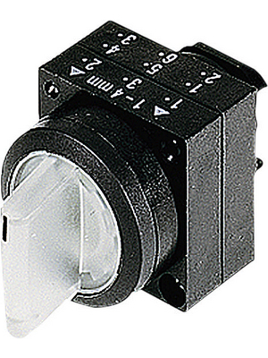 Siemens - 3SB3001-2LA21 - Illuminable Selector Switch 0-I, Plastic,red, 3SB3001-2LA21, Siemens