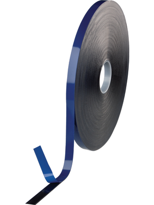 Tesa - 07076 19MM X 18 M BLACK - Acrylic tape black 19 mmx18 m, 07076 19MM X 18 M BLACK, Tesa
