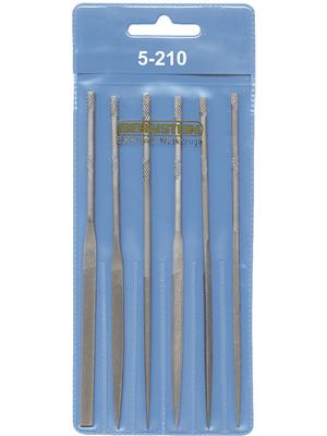 Bernstein - 5-210 - 6-part needle file set 140 mm, 5-210, Bernstein