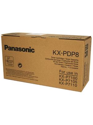 Panasonic - KX-PDP8 - Toner module black  KX-P 7100/05/10 4000 pages, KX-PDP8, Panasonic
