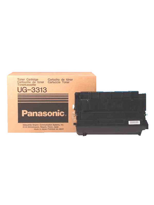 Panasonic - UG-3313 - Toner module black Fax UF-550/770 10'000 pages, UG-3313, Panasonic