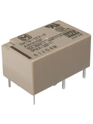 Panasonic - DK1A-3V-F - PCB power relay 3 VDC 200 mW, DK1A-3V-F, Panasonic
