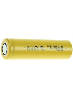 A123 Systems - APR18650M1 - LiFePO4-Battery 3.3 V 1100 mAh, APR18650M1, A123 Systems