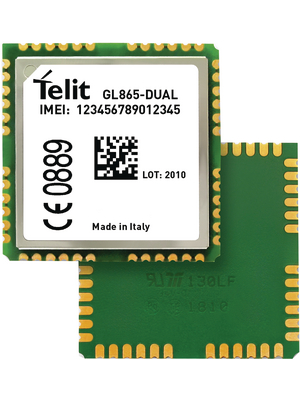 Telit - GL865DUA004T001 - GSM module 900 MHz / 1800 MHz, GL865DUA004T001, Telit