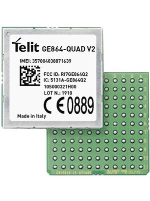 Telit - GE864Q2D003T003 - GSM module 850 MHz / 900 MHz / 1800 MHz / 1900 MHz, GE864Q2D003T003, Telit