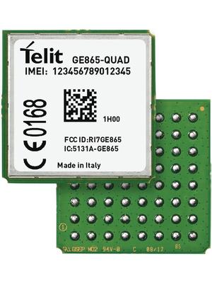 Telit - GE865QUD004T014 - GSM module 850 MHz / 900 MHz / 1800 MHz / 1900 MHz, GE865QUD004T014, Telit