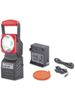 Acculux - SL 6 LED SET - Rechargeable workplace torch IP 54, SL 6 LED SET, Acculux