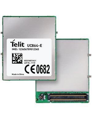 Telit - UC864EUR816T001 - GSM module 850 MHz / 900 MHz / 1800 MHz / 1900 MHz / 2100 MHz, UC864EUR816T001, Telit