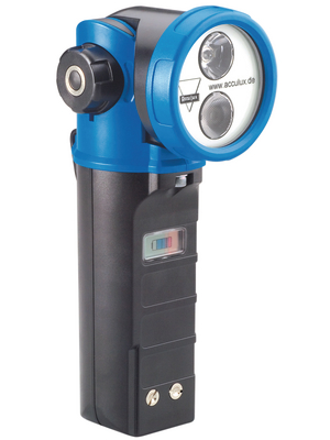 Acculux - HL 20 SET - LED safety torch IP 65, HL 20 SET, Acculux