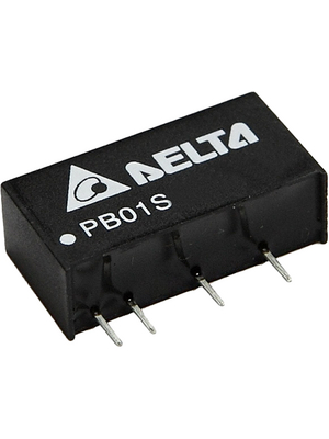 Delta-Electronics - PB01S0515A - DC/DC converter 4.5...5.5 VDC 15 VDC, PB01S0515A, Delta-Electronics