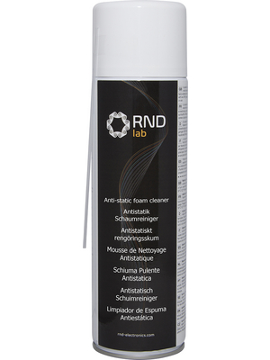 RND Lab - RND 605-00130 - Anti-static Foam Cleaner Spray 400 ml, RND 605-00130, RND Lab