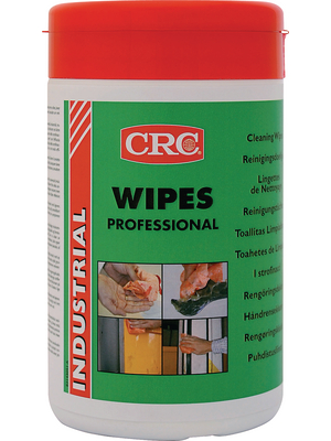 CRC - PROFESSIONAL WIPES - Cleaning wipes N/A, PROFESSIONAL WIPES, CRC