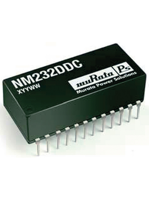 Murata Power Solutions - NM232DD - Interface IC RS232 DIL-24, NM232DD, Murata Power Solutions