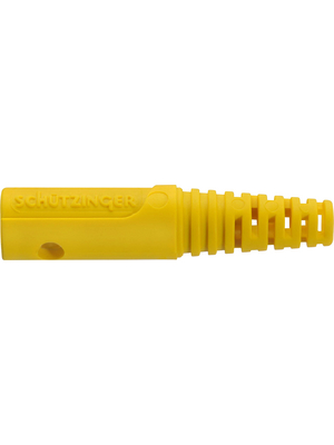 Schützinger - GRIFF 8 / GE /-1 - Insulator ? 4 mm yellow, GRIFF 8 / GE /-1, Schützinger