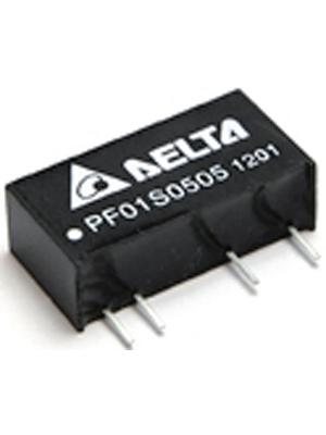 Delta-Electronics - PF01S0505A - DC/DC converter 4.5...5.5 VDC 5 VDC, PF01S0505A, Delta-Electronics