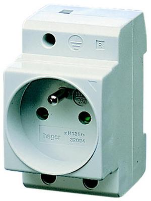 Pentair Schroff - 20119-358 - Socket Cap rail 35 mm 10 A/250 VAC UTE, 20119-358, Pentair Schroff