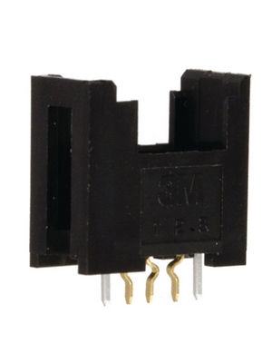 3M - 37203-62B3-003 PL - PCB socket, black Pitch2 mm Poles 3 Contact DesignFemale Mini-Clamp, 37203-62B3-003 PL, 3M