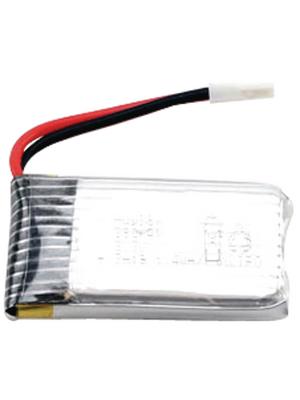- H107-A24 - Battery for Hubsan X4, 3.7 V, 380 mAh LiPo, H107-A24