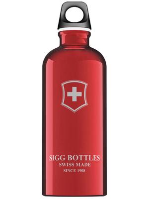- 8319.20 - SIGG Bottle Swiss Emblem Red 0.6 L, 8319.20