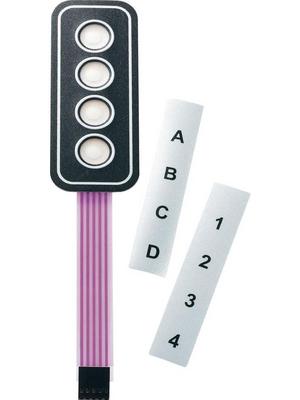 Apem - AC3533 - Membrane keypad, AC3533, Apem