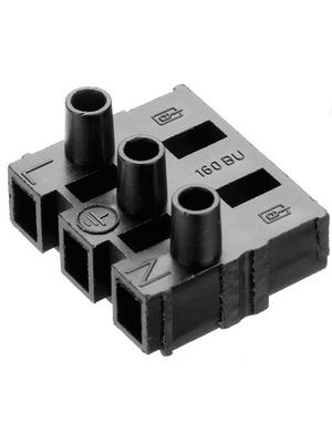 Adels Contact - 160 BU/ 5 DSs - Socket Series 160/163 Screw terminal Screw Terminal 5P, 160 BU/ 5 DSs, Adels Contact