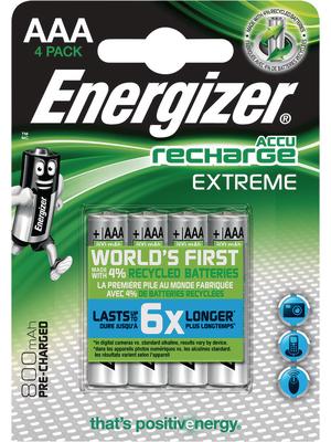 Energizer EXTREME AAA 800MAH 4P