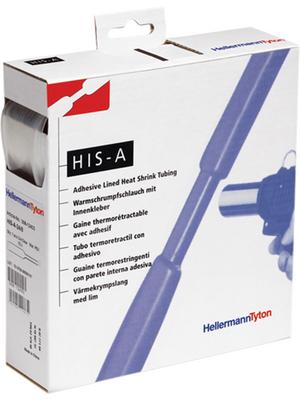 HellermannTyton - HIS-A-9/3 PO-X CL 5 - Heat-shrink tubing spool box transparent 9.0 mmx3.0 mmx5 m - 308-10903, HIS-A-9/3 PO-X CL 5, HellermannTyton