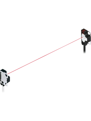 Panasonic - EX-Z12FB-P - Through Beam Sensor, 0...200 mm, Front type, Dark ON, EX-Z12FB-P, Panasonic