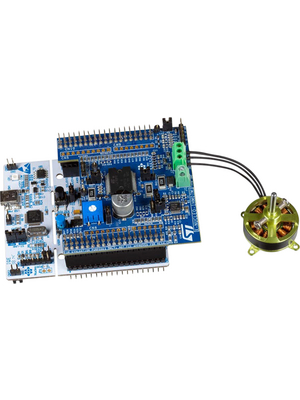 ST - P-NUCLEO-IHM001 - Motor Control Kit, P-NUCLEO-IHM001, ST