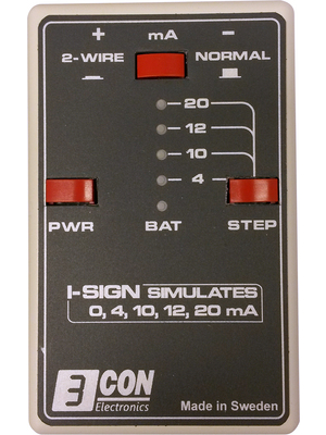 3CON Electronics - IS09E - 电流模拟器/校准器I-Sign,IS09E,3CON Electronics
