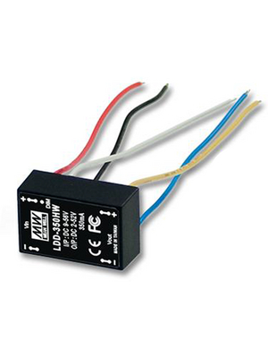 Mean Well LDD-300H LED Power Supplies 9-56Vin 2-52Vout 300mA LED Driver