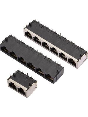 MH Connectors - 3012S-08(4.57) - Modular jack 8, 3012S-08(4.57), MH Connectors