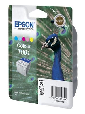 Epson - C13T00101110 - Ink T001 multicoloured, C13T00101110, Epson