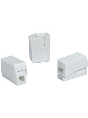 HellermannTyton - HECL-2/1 - Socket terminal Poles=2, 0.75...1.5 mm2 - 148-90023, HECL-2/1, HellermannTyton