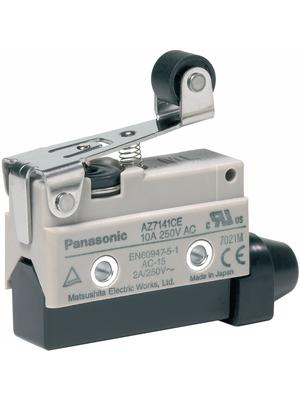 Panasonic - AZ7141CEJ - Limit switch AZ7 10 A Plunger N/A 1 change-over (CO), AZ7141CEJ, Panasonic