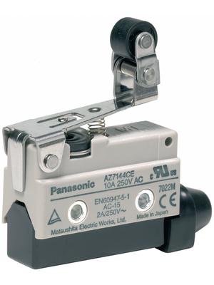 Panasonic - AZ7144CEJ - Limit switch AZ7 10 A Plunger N/A 1 change-over (CO), AZ7144CEJ, Panasonic