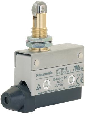 Panasonic - AZ7311CEJ - Limit switch AZ7 10 A Plunger N/A 1 change-over (CO), AZ7311CEJ, Panasonic