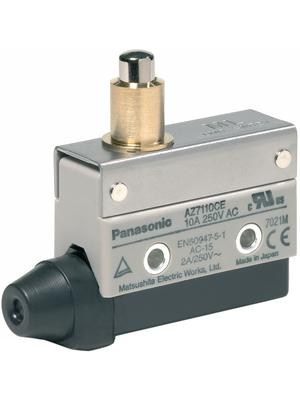 Panasonic - AZ7110CEJ - Limit switch AZ7 10 A Plunger N/A 1 change-over (CO), AZ7110CEJ, Panasonic