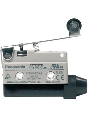 Panasonic - AZ7121CEJ - Limit switch AZ7 10 A Plunger N/A 1 change-over (CO), AZ7121CEJ, Panasonic