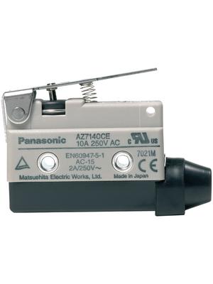 Panasonic - AZ7140CEJ - Limit switch AZ7 10 A Plunger N/A 1 change-over (CO), AZ7140CEJ, Panasonic