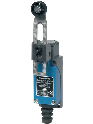Panasonic - AZ8108CEJ - Limit Switch AZ8 10 A Adjustable roller lever N/A 1 NO+1 NC, AZ8108CEJ, Panasonic