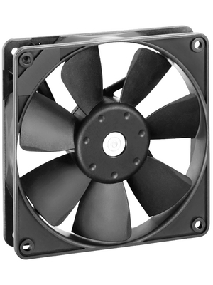 EBM-Papst - 3414N - Axial fan DC 92 x 92 x 25 mm 84 m3/h 24 VDC 2.3 W, 3414N, EBM-Papst