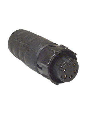 Switchcraft - EN3C5F - Cable socket EN3, 5-pin Poles 5, EN3C5F, Switchcraft