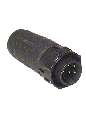 Switchcraft - EN3C6M - Cable plug EN3, 6-pin Poles 6, EN3C6M, Switchcraft