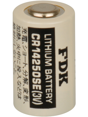 FDK - CR14250SE - Photo battery Lithium 3 V 850 mAh, CR14250SE, FDK