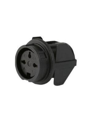 Amphenol - T 3277 500 - Appliance socket C091B 3-pin Poles=3, T 3277 500, Amphenol