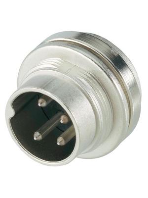 Amphenol - T 3262 000 - Appliance plug, C091A 3-pin Poles=3, T 3262 000, Amphenol