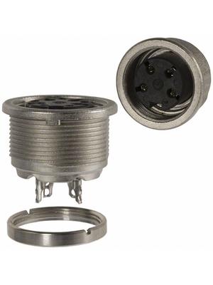 Amphenol - T 3303 000 - Device bushing C091A 4-pin Poles=4, T 3303 000, Amphenol