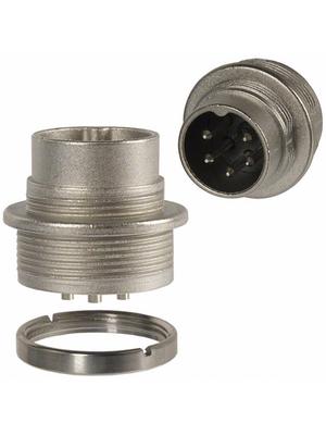 Amphenol - T 3362 000 - Appliance plug, C091A 5-pin Poles=5 - 240°, T 3362 000, Amphenol